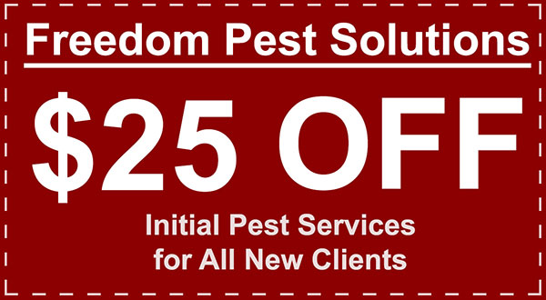 Freedom Pest Solutions Coupon